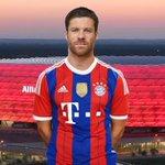 Es oficial, Xabi Alonso nuevo juegador del Bayern München. http://t.co/vwjCrvXEyO