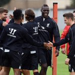 PHOTO: @FinallyMario trains with his new #LFC teammates on Friday http://t.co/ZP8eyf6LRr