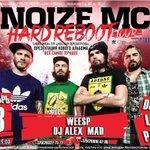 RT @noize_mc: 13 сентября в г. Минске состоится первый концерт в рамках тура «Hard Reboot». Билеты: https://t.co/iKCzahjsyU.. http://t.co/LYEg4nO2O2