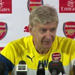 """""""Arsenal fans say why dont we just sign Falcao? Can you explain?"""" Wenger: """"Negotiations have to be secret."""" http://t.co/YKMcydbulL"""