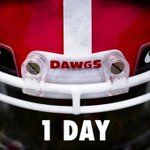 1 Day. #ItsTime #GoDawgs http://t.co/GGqw49vbEI