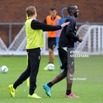 RT @LFCTS: Balotelli enjoying training today http://t.co/hE8hi5ED0h