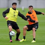 RT @LFC: PHOTO: @DejanLovrenLFC6 and Emre Can compete for possession during the session at Melwood today #LFC http://t.co/nfXNdGH4Pm