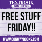 RT @TextbookBrokers: Are you excited about Free Stuff Friday? RT & favorite to win a $10 iTunes Gift card and a $25 Kum and Go gift card! http://t.co/DK2A9lwBOh