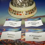 RT @Everton: PHOTO: #EFC and the three other clubs that will compete in Group H of this seasons @EuropaLeague. #UEL http://t.co/KL3mZ2GXrG
