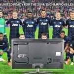 """@causticbob: #ManUtd ready for the 2014/15 champions league http://t.co/9DChXCpNqw"" ????????????????????"