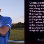 Samuel Etoo on Liverpool and Everton. http://t.co/Lgtuht2ul4