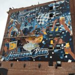 RT @jeff_rosen88: This @SportingKC and @Boulevard_Beer mural is being worked on right now on Walnut. Can u spot the painters? http://t.co/ViTjwjb8nZ