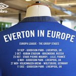 . @Everton tour dates released #EvertonInEurope #UEL http://t.co/Ugd7ST175f