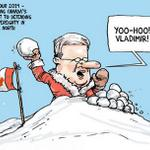 RT @TorontoStar: How does Canada defend the north? Find out in todays editorial cartoon: http://t.co/aBkTiYeoUj #cdnpoli http://t.co/j0ELOu60RZ