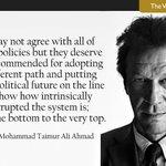 MT @tribuneblogs: Is @ImranKhanPTI being democratically correct'? asks M Taimur: http://t.co/t1Rs0yM4ae #Pakistan http://t.co/X20322tLYY