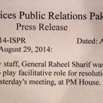 RT @RealZainabJamil: After @AsimBajwaISPR Tweet @ISPR_Official issued letter to Govt...https://t.co/91lVVTzF4j