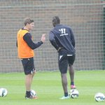 RT @LFCTransferNRS: Gerrard & Balotelli in training today. http://t.co/PupBvuNhX8