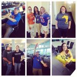 So many festive colleagues for #CollegeColors day! @HeraldTribune http://t.co/3LJmEdN6RS