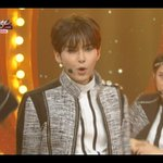 RT @ryeowookstar: [CAP] 140829 #SUPERJUNIOR comeback stage at Music Bank #SHIRT & #MAMACITA - Ryeowook (3) http://t.co/l5TcOSKtrU