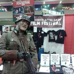 RT @TADFilmFest: Think this guy might have caught wind of one of our 10 announced films? Booth #5135 at @FanExpoCanada has the answer! http://t.co/XHHJrGIPXN