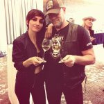 Wining with the legend @michael_rooker @fanexpocanada #beaver http://t.co/6H5WJ9IPF3