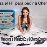 """""""@Louelia: #Ecuador, #InvitaTuCantante para tenerla en el @TeletonEC a @Chenoaoficial FOTO: http://t.co/dM9YOdrfxG"""""""
