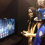 """""""@noobde: This is whats inside the Mortal Kombat X booth at (Torontos) FAN EXPO... http://t.co/xEXdbbokcC"""" Oh shit!!!!????????????"""