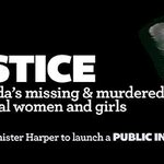 RT @CanadianLabour: Tell @pmharper to launch a PUBLIC INQUIRY into Missing & Murdered Aboriginal Women - http://t.co/aQ2wtilI6P #canlab http://t.co/7juUUsvIVJ