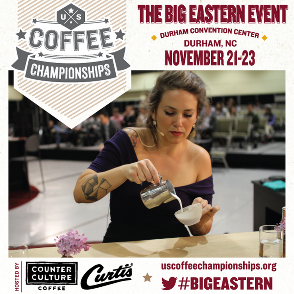 Durham, see you in November for the #BigEastern! http://t.co/xjIYuSGazW Hosted by: @counter_culture @WilburCurtisCo http://t.co/CAZ8aLqv78