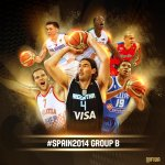 RT @FIBA: 1 day to go to the FIBA Basketball World Cup! #Spain2014 Group B preview: http://t.co/VVV4859Slr http://t.co/gOnXhIaTfW