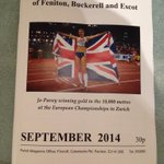 """@mattthejazz: @jopavey First time parish mag is in colour!! #jopavey http://t.co/JhyFdWv5xM"" Lovely to have local support :) #Devon"