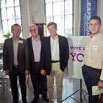 RT @johntoryTO: Greatly enjoyed the conversation with @jpbevi and the group at @proud2vote - less than 2 months til E Day #Toronto http://t.co/r5r8Xykc9B