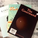 RT @MagsandFags: This week we have picked @Gourmand @LuckyPeach and @kinfolkmag as our #weekend reads! What are yours? #yum #ottcity http://t.co/r0zwcAdUfR