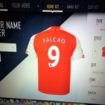 "RT @Wiredu_: ???????? ""@afc4life_uk: Just ordering my new @FALCAO @Arsenal shirt for the new season! #Excited #AFC #WelcomeToArsenal http://t.co/1xu7rKL7cA"