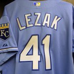 Look what the #Royals dropped off for @glezak! He throws out the first pitch on #SundayNightBaseball. http://t.co/fKAOFNf1bb
