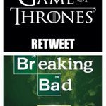 This like asking which arm Id rather cut off RT @JaimeLann_ Retweet for Game of Thrones, favorite for Breaking Bad. http://t.co/Zu0kMLJh9F