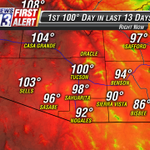 First time in almost 2 weeks that weve hit 100° in #Tucson. I would love to make this only a 2 week tradition. http://t.co/MWu7ethHmy