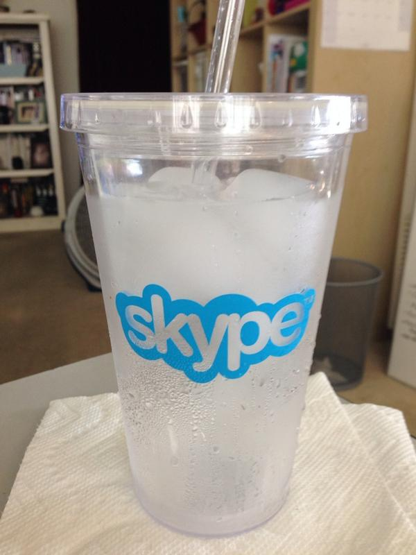 Thanks, y'all! Final hour of 200 mini-coaching sessions via @Skype starts now. Got my water ready! http://t.co/2515pWC0nb
