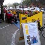 RT @LindaDuncanMP: cyclist Isaak Kornelsen memorialized with parklette on Whyte Ave with Edm bike commuters soon arriving #cdnpoli http://t.co/5O6GLvc8xp