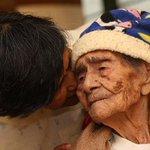 RT @webcamsdemexico: Doña Leandra (MEX) el domingo cumple 127 años. Podria ser la mujer más longeva del mundo. Vía http://t.co/30aXxddQJE http://t.co/H70LP8Z9Pr