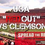 RT @UGAfootballLive: Wear red and rock the hedges. #GoDawgs http://t.co/wzzWTVls8y