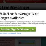 TTYL: MSN Messenger officially shuts down in October: http://t.co/xy5cREuSY6 #yeg http://t.co/E8Dl9GCdxc