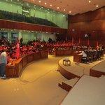 Salón José Mejía Lequerica en pleno para la sesión solemne de Juventud Comunista del Ecuador. #AlegreRebeldía #JCE85 http://t.co/j7NqvbBHGb