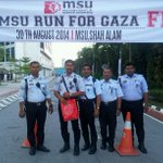"""RT @MSUmalaysia: Tq @PDRMsia for ur support. """"@MSUscd: Our Abang Police Traffic are ready for MSU Run For Gaza. @MSUmalaysia http://t.co/Y06WPNhs3d"""""""