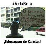 Desde #Zulia retamos al Ministro @HectoRodriguez a ocuparse más por la calidad que por el adoctrinamiento #VzlaReta http://t.co/dO9thtPtgH