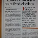 RT @JoinAAP: RT @Abinash_2K: #DelhiWantElection Delhites demand fresh poll. http://t.co/QnFMMINuii