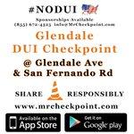 RT @MrCheckpoint: NOW #LosAngeles DUI Checkpoint #Glendale Glendale Ave & San Fernando Rd #NODUI #Lab... http://t.co/tFsN5kHh5f http://t.co/ozRSebqKY1