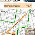Consulte las #VíasAlternas para el #MaratonCdMx que se llevará a cabo este domingo 31 de Agosto en @OVIALCDMX http://t.co/P47NEJ0Dlr