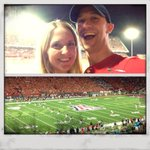 Date night & football happening tonight in #Tucson. #BearDown #LuckyHusband http://t.co/vTUW4GAsYt