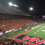 Full student section tonight. #BearDown #zonazoo http://t.co/8isQi4v4fE