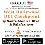 RT @MrCheckpoint: NOW #LosAngeles DUI Checkpoint West #Hollywood Santa Monica Blvd & Fairfax Ave #NOD... http://t.co/ELM0RitpH8 http://t.co/WucbUelLOQ