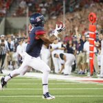 RT @ArizonaFBall: Perfect pass from Anu Solomon, great hands from Nate Phillips. #UNLVvsAZ #BearDown http://t.co/b0sDjbhmlJ