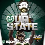RT @ColoradoStateU: Our Rams #BeatTheBuffs 31-17 and are the Rocky Mountain Showdown champs! #RMShowdown #CSURams #RamPride http://t.co/FqQih5E92U
