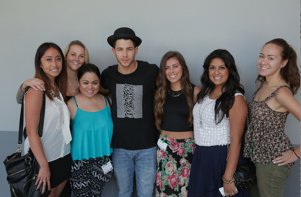 Thanx to U lovely ladies for help at our #nickjonas event 2day! @WhatsTrending @iloveHOLLYwood @kaayDot_ @dash_radio http://t.co/Im4SmmthlM